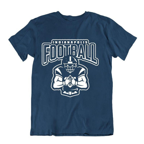 Men's Football Team T-Shirts - Sizes XL/2XL-Indianapolis-XL-Daily Steals