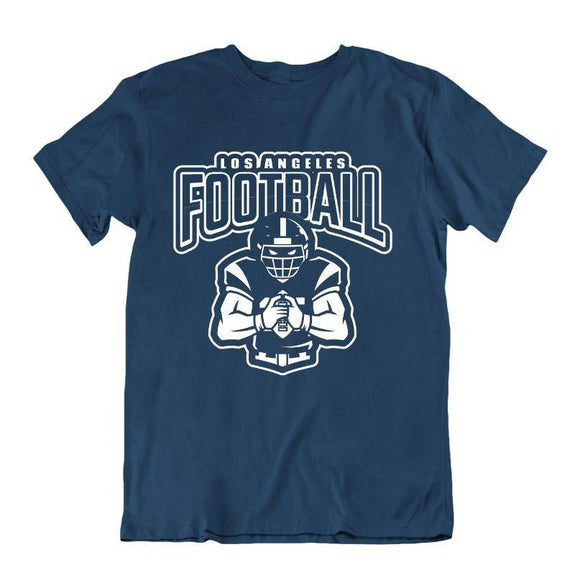 Men's Football Team T-Shirts - Sizes XL/2XL-Los Angeles - Navy-XL-Daily Steals