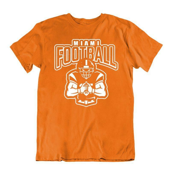 Men's Football Team T-Shirts - Sizes XL/2XL-Miami-XL-Daily Steals