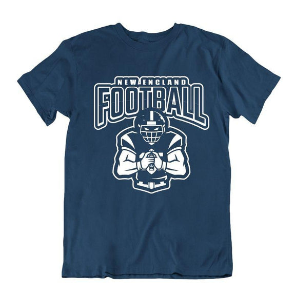 Men's Football Team T-Shirts - Sizes XL/2XL-New England-XL-Daily Steals