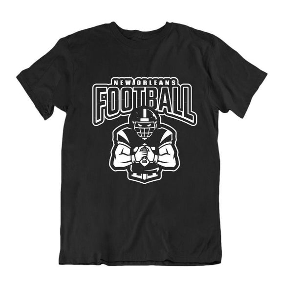 Men's Football Team T-Shirts - Sizes XL/2XL-New Orleans-XL-Daily Steals