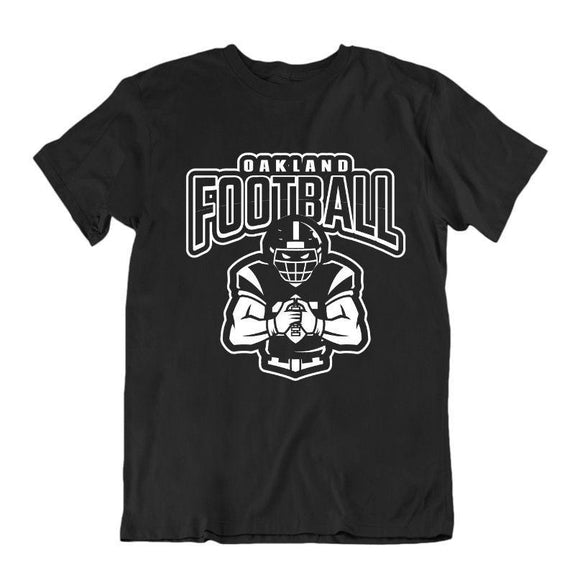 Men's Football Team T-Shirts - Sizes XL/2XL-Oakland-XL-Daily Steals
