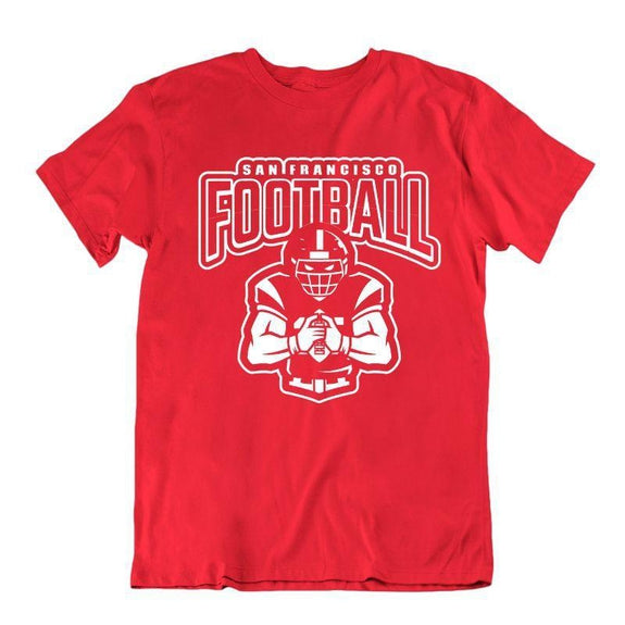 Men's Football Team T-Shirts - Sizes XL/2XL-San Francisco-XL-Daily Steals