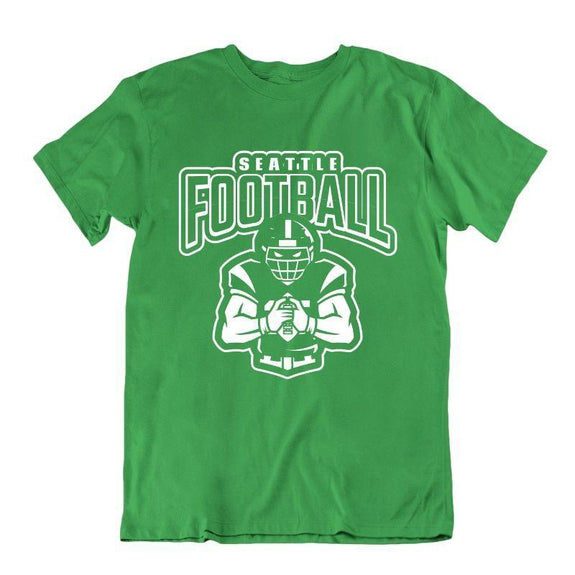 Men's Football Team T-Shirts - Sizes XL/2XL-Seatle-2XL-Daily Steals