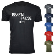Daily Steals-Hommes Gym Workout Beast Mode On Scratch T-shirts-Vêtements pour hommes-Noir-Petit-