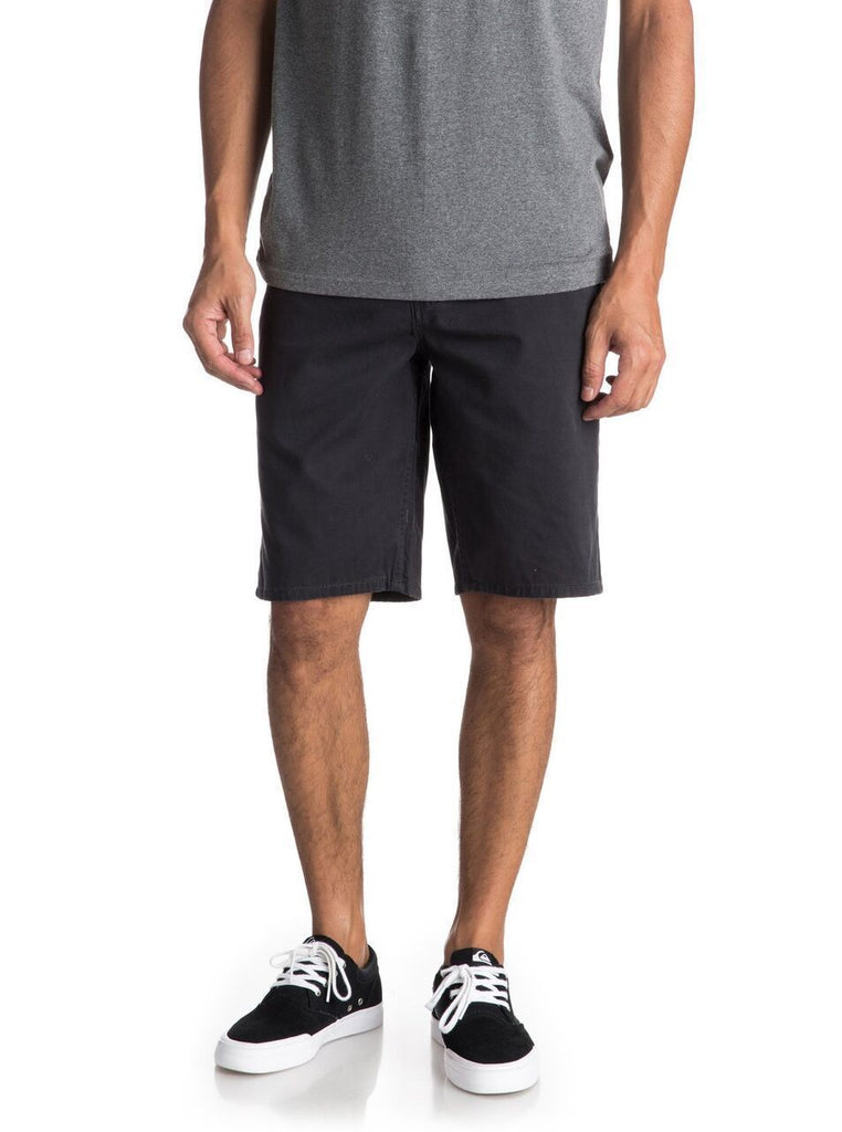 Daily Steals-Men's Shorts-Basic Four [4] Pocket Chino Slim Fit Style - Belt Included-Men's Apparel-Black-38-