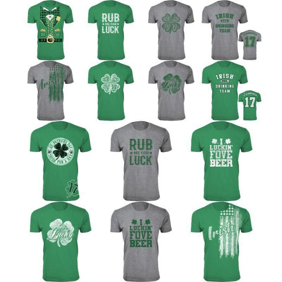 Men's St. Patrick's Day Lucky T-Shirts-Daily Steals
