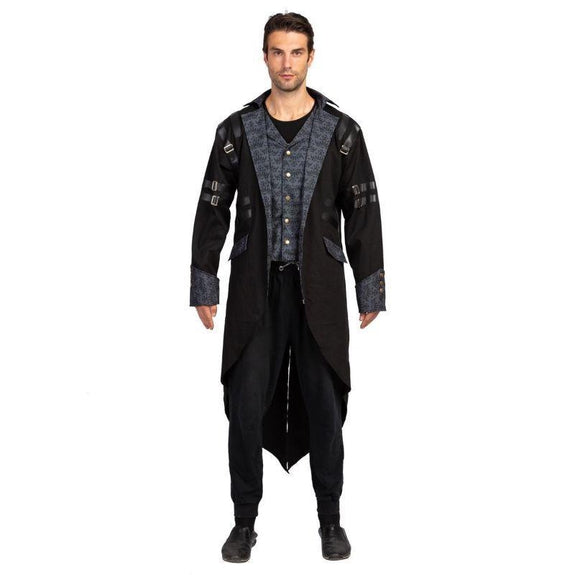 Mens Steampunk Vintage Costume for Adult Men-S-