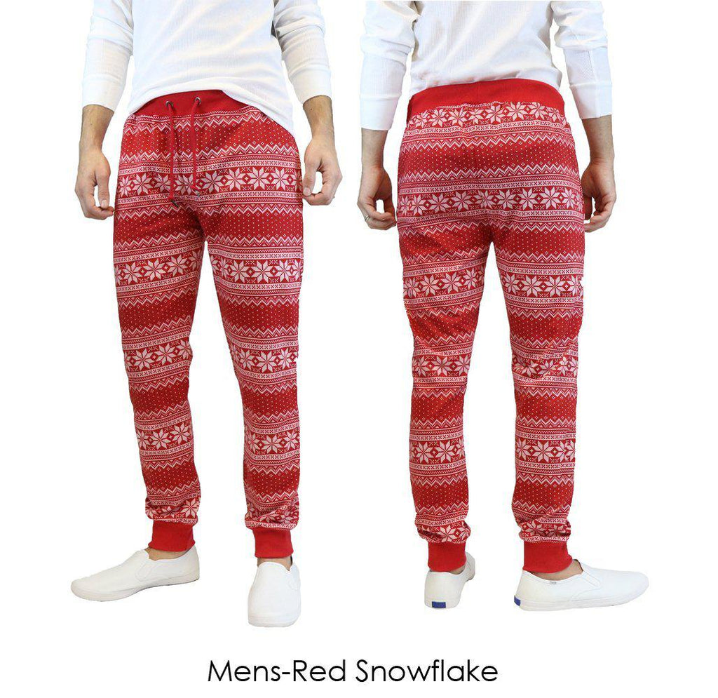 5857e3d7c Daily Steals-Men's and Women's French Terry Ugly Christmas Joggers-Women's  Apparel-Mens