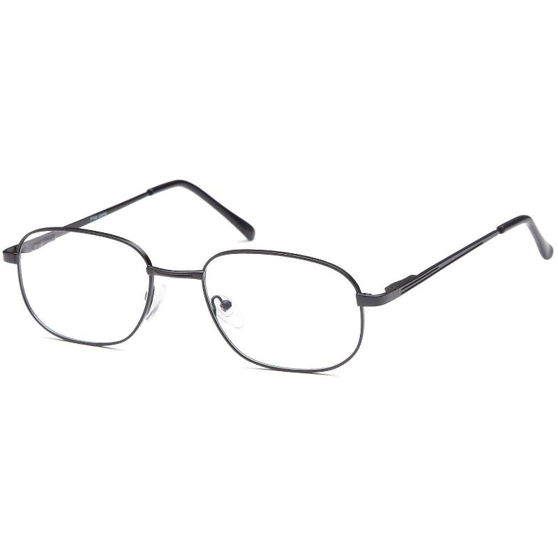 Men's Eyeglasses 56 19 145 Black Metal