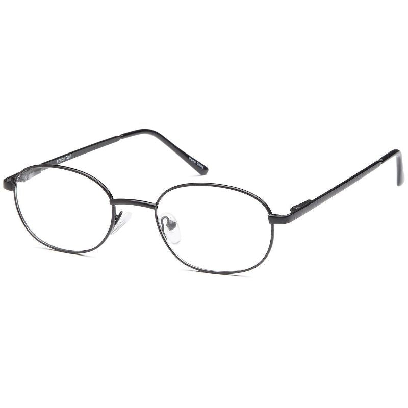 Men's Eyeglasses 50 19 140 Black Metal