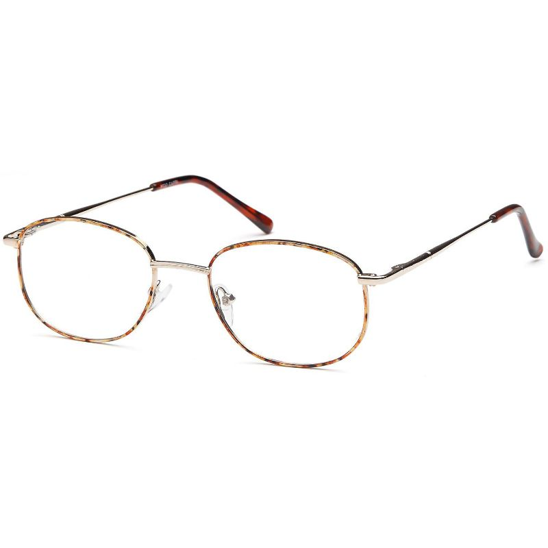 Men's Eyeglasses 51 19 140 Demi Amber Metal