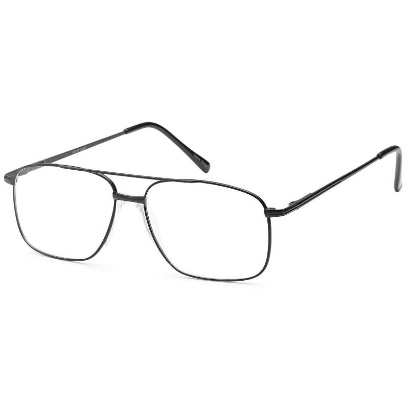Unisex Eyeglasses 53 16 140 Black Metal
