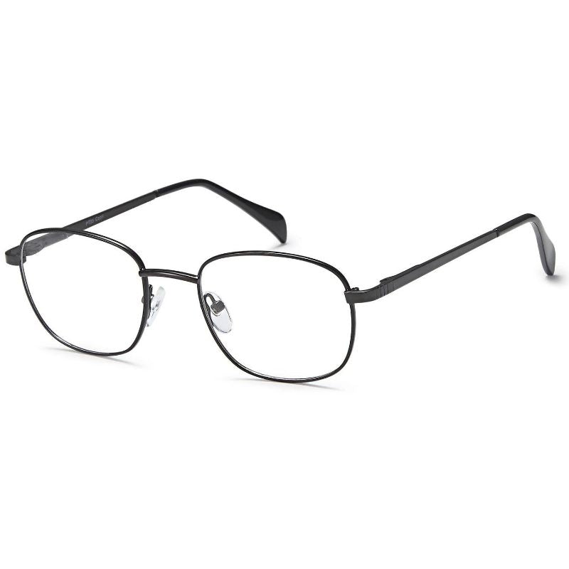 Unisex Eyeglasses 48 19 135 Black Metal