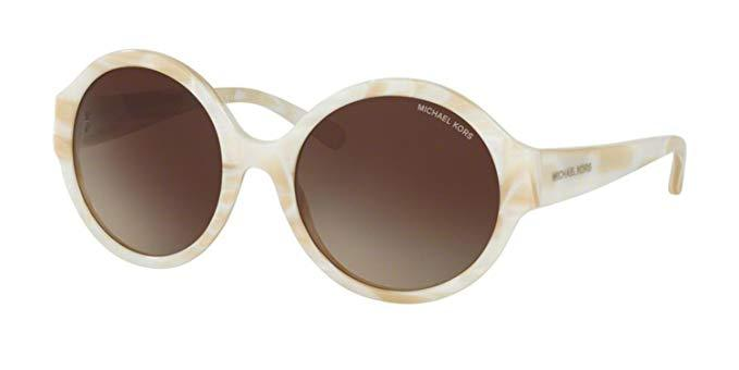 Daily Steals-Michael Kors MK 2035F Ivory Horn Sunglasses-Accessories-