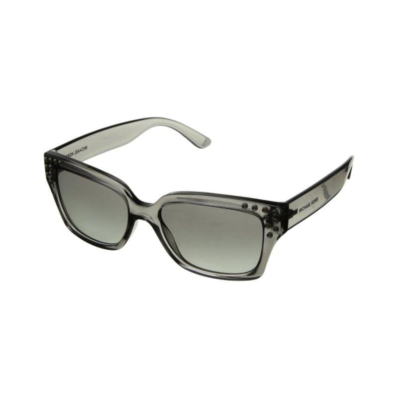 Michael Kors MK2066-334511-55 Gray Square Women's Sunglasses-Daily Steals