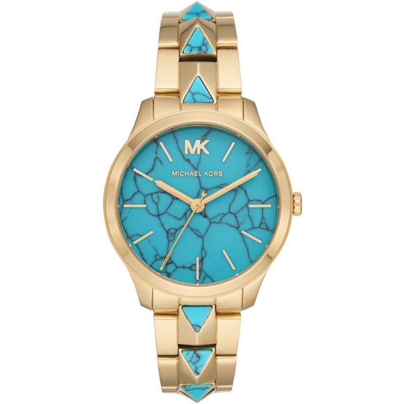 Michael Kors Women's Runway Mercer Quartz 38mm Watch with Stainless Steel Strap MK6670-