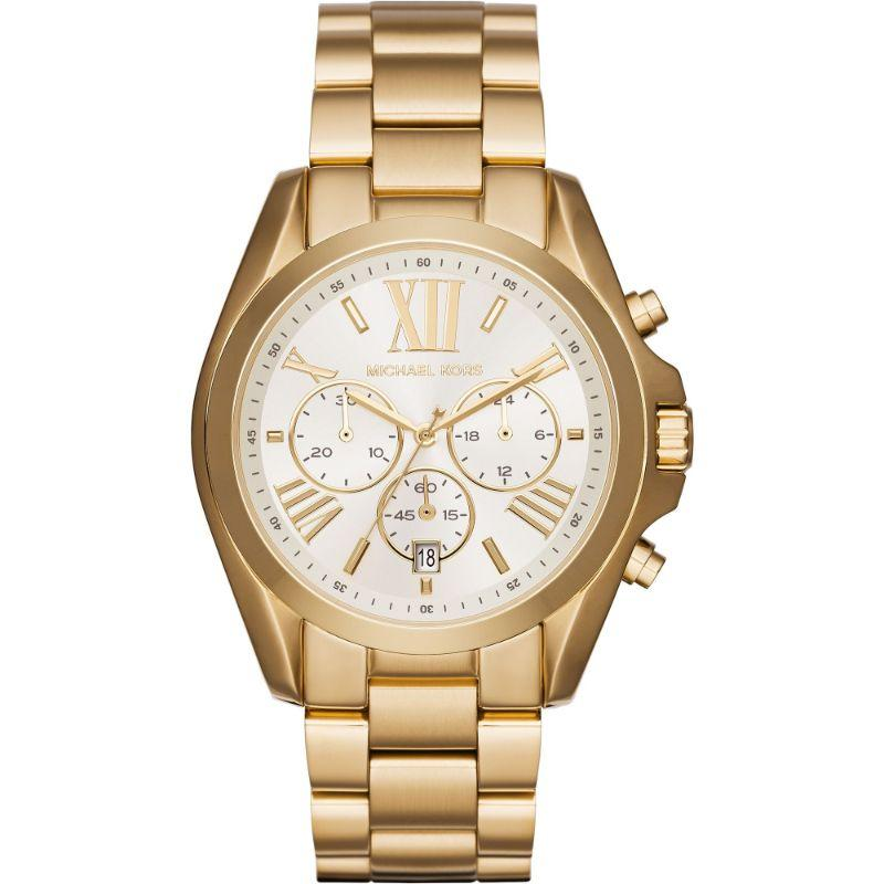 Micheal Kors Bradshaw White 43mm Ladies Watch - MK6266-