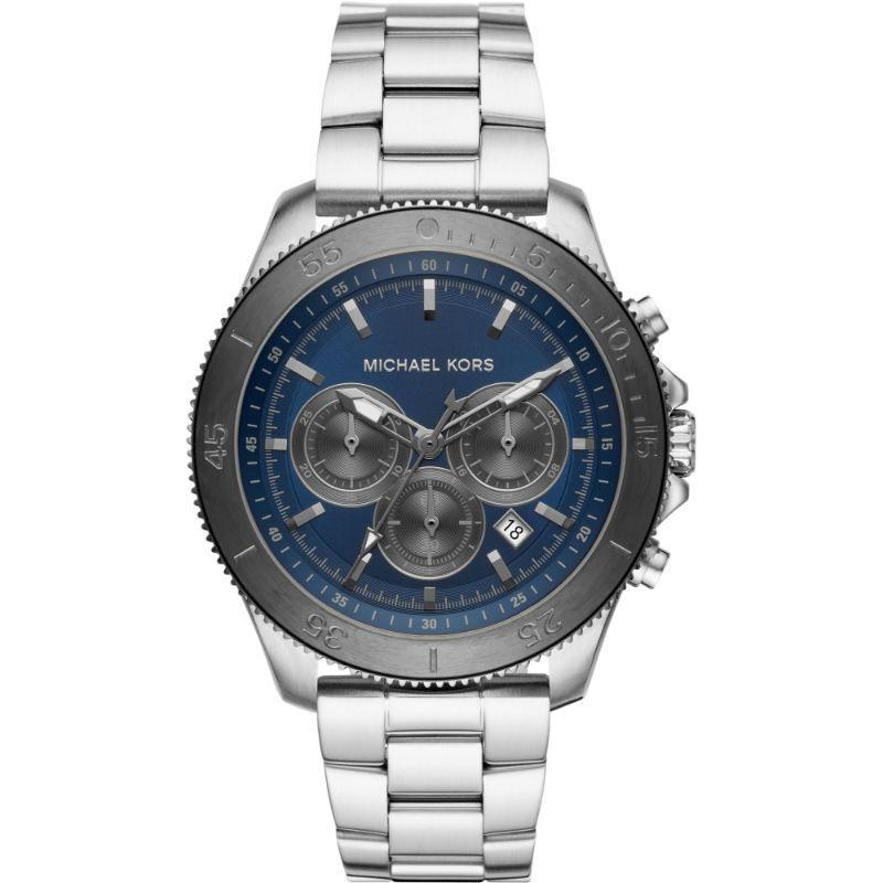 Micheal Kors Theroux Blue 44mm Mens Watch - MK8662-