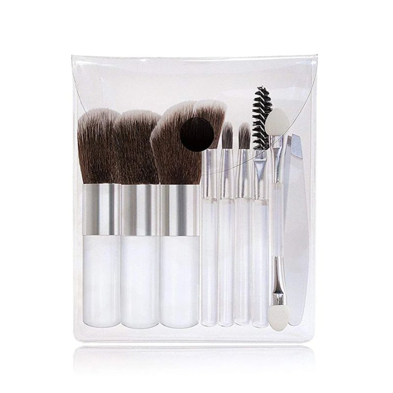 Micro Beauty Travel Make-Up Brush Set 10-Piece-Daily Steals