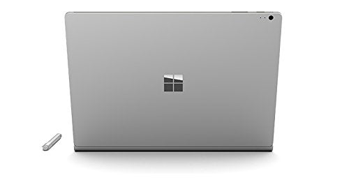 Daily Steals-Microsoft 13.5 inch Surface Book Multi-Touch 2-in-1 Notebook (Silver)-Laptops-