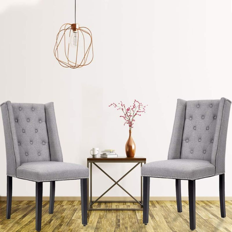Mid-Century Modern Dining Room Chair Set - 2 Chairs-Daily Steals