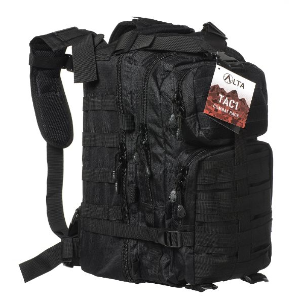 Military Tactical Army 3-Day Assault Outdoor Backpack for Hiking-Black-Daily Steals
