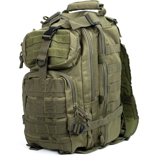 Military Tactical Army 3-Day Assault Outdoor Backpack for Hiking-Green-Daily Steals