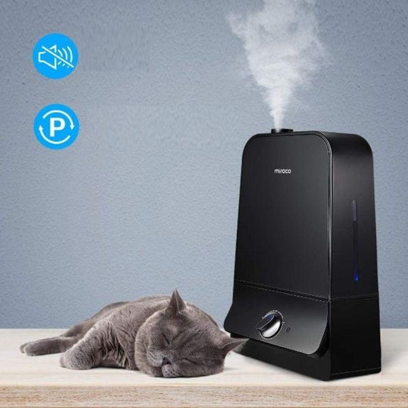 Miroco Whisper-Quiet Cool Mist Humidifier with 360° Nozzle-Daily Steals