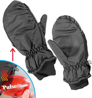 Daily Steals-Heat Pocket Mittens: Mens Large-Outdoors and Tactical-