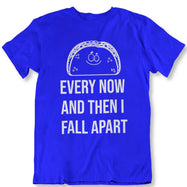Taco Eclipse of The Heart, de temps en temps je m'effondre T-Shirt-Royal Blue-2XL-Daily Steals