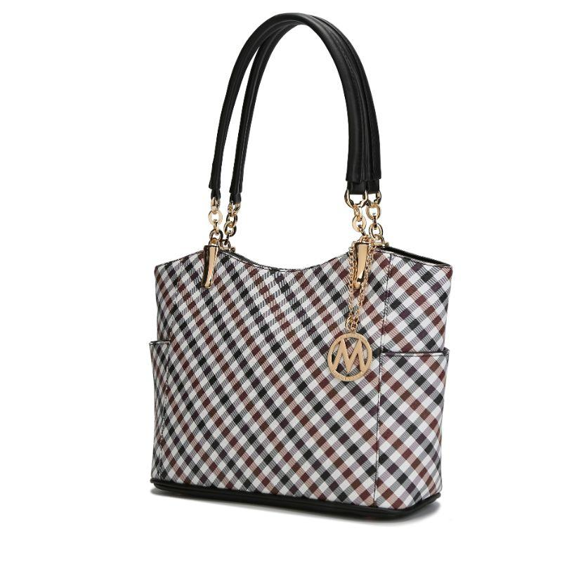 MKF Collection Bertha Tote Bag-Black-Daily Steals