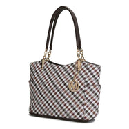 MKF Collection Bertha Tote Bag-Brown-Daily Steals
