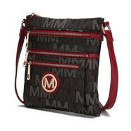 MKF Collection by Mia K - Beatrice Crossbody Bag-Red-