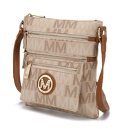 MKF Collection by Mia K - Beatrice Crossbody Bag-Beige-