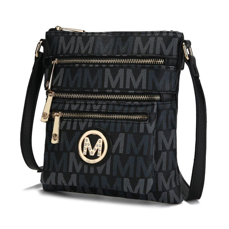 MKF Collection by Mia K - Beatrice Crossbody Bag-Black-