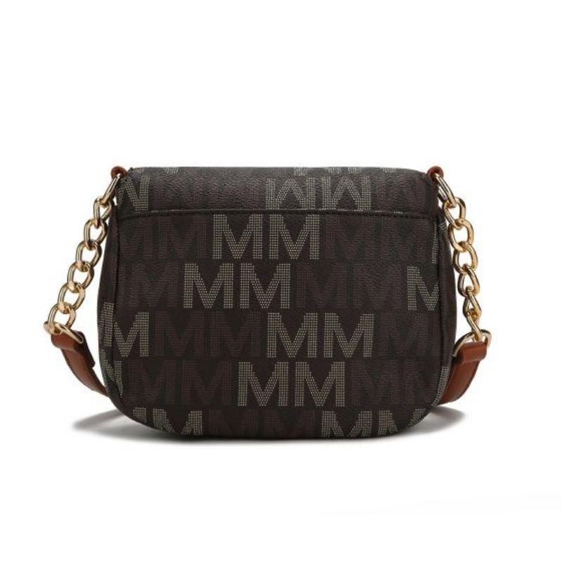 MKF Collection by Mia K - Camila Crossbody Bag-Red-