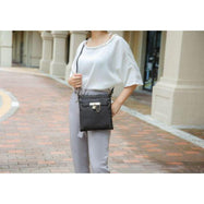 MKF Collection by Mia K - Hallie Lock Oversized Crossbody Bag-Daily Steals
