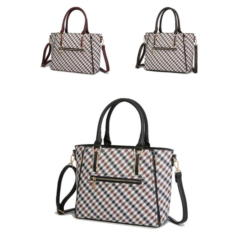 MKF Collection Paisa Satchel Handbag-Daily Steals