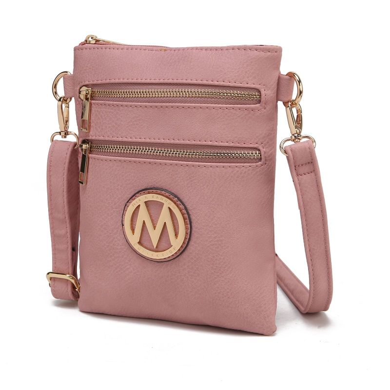 MKF Collection Medina Cross Body by Mia K. Farrow-Dusty Pink-Daily Steals