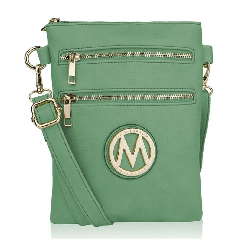 MKF Collection Medina Cross Body by Mia K. Farrow-Seafoam-Daily Steals