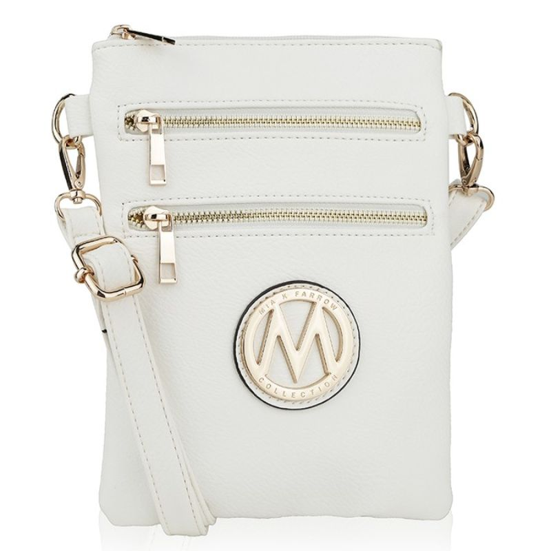 MKF Collection Medina Cross Body by Mia K. Farrow-White-Daily Steals