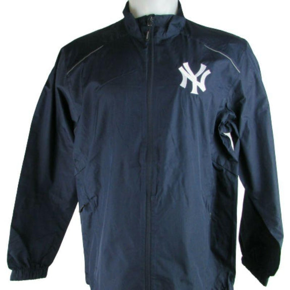 MLB Lightweight Windbreakers-Navy-New York Yankees-2XL