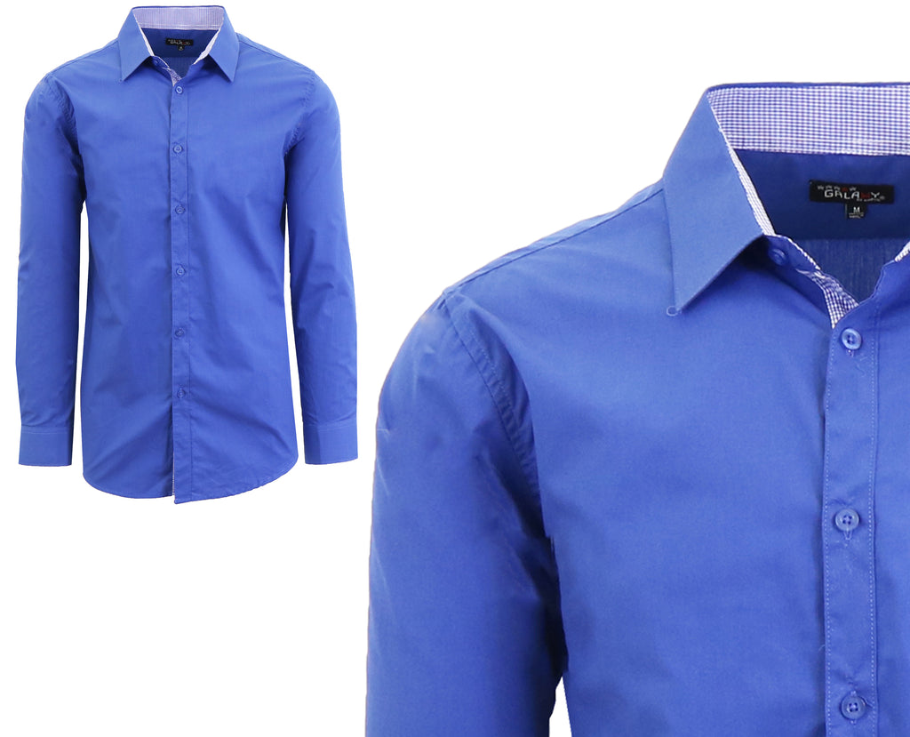 Long Sleeve Dress Shirt For Men