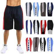 Men's Assorted Active Mesh Shorts - 5 Pack-2X-Large-Daily Steals