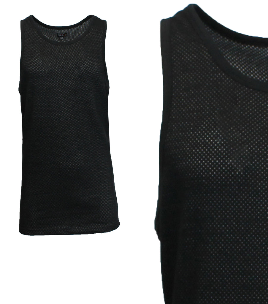 cc1aaa29a5c08 Daily Steals-Men s Moisture Wicking Cool Mesh Muscle Tank Tops-Men s  Apparel-Black