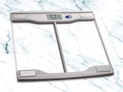 Daily Steals-Modern Digital Glass-Top Bathroom Scale-Home and Office Essentials-