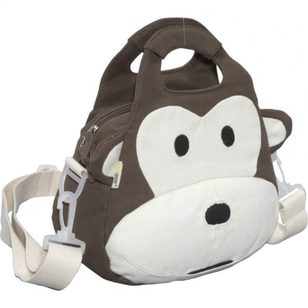 Ecogear Ecozoo Kids Animal Lunch Totes-Monkey-Daily Steals
