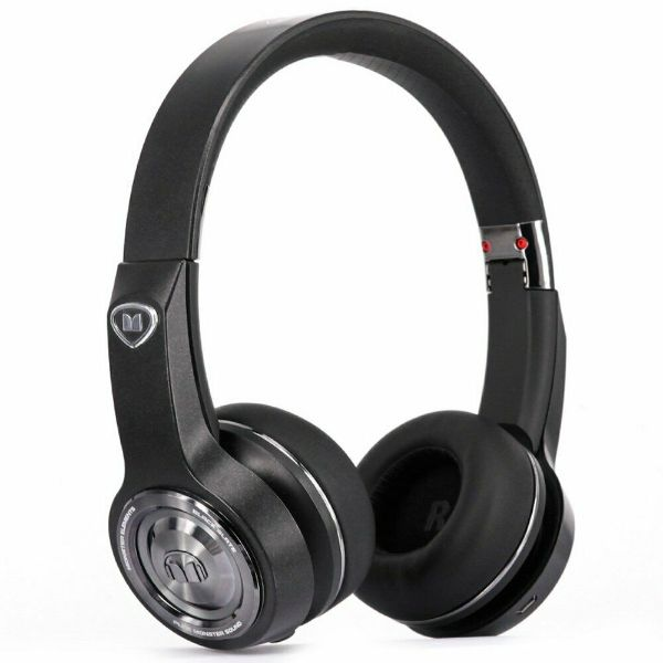 Daily Steals-Monster Elements Over the Ear Bluetooth Wireless, Headphones - Black Slate-Headphones-