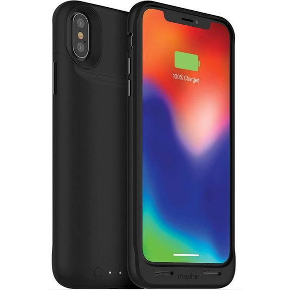 Mophie Juice Pack Qi Wireless Charging Battery Case for Apple iPhone X-